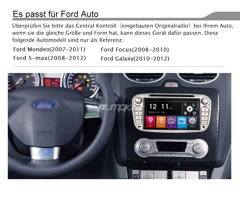 7 autoradio gps navi dvd f r ford top in uttwil kaufen. Black Bedroom Furniture Sets. Home Design Ideas