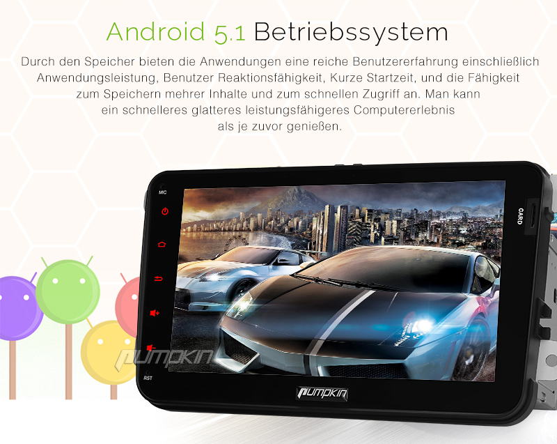 neu 8 zoll autoradio android 5 1 gps navi ips screen dab obd2 dvr r ckfahrkamera ebay. Black Bedroom Furniture Sets. Home Design Ideas