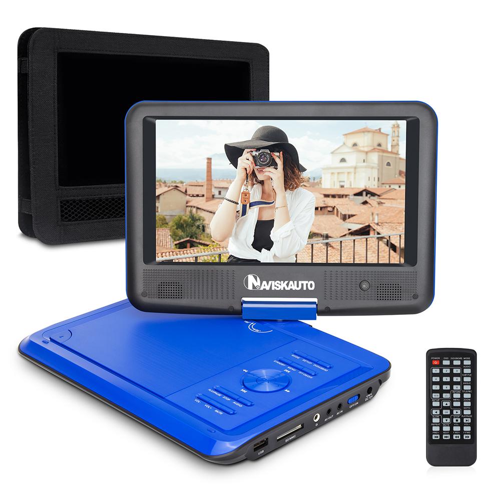 9 tragbarer dvd medien player auto tft monitor bildschirm. Black Bedroom Furniture Sets. Home Design Ideas